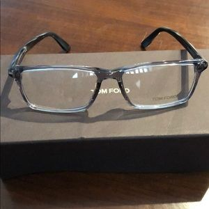 Tom Ford frames grey and black two tone